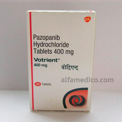 Votrient (Вотриент) - Пазопаниб