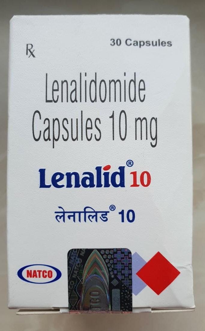 Lenalid, Леналидомид 10 мг Капсулы