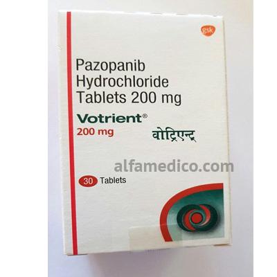 Votrient (Вотриент) - Пазопаниб 200 мг - Таблетки