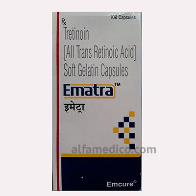 Ematra (Эматра) - Третиноин 10 мг - Капсулы