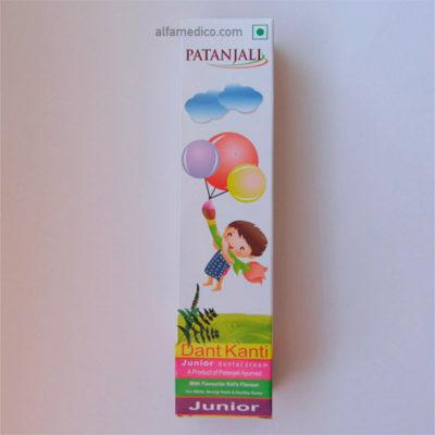 Детская зубная паста (Dant Kanti Junior Tooth Paste Patanjali)