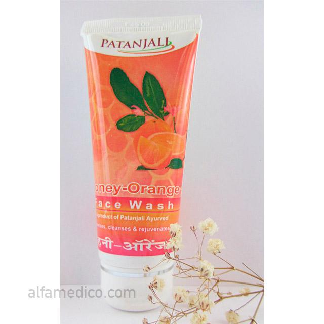 Гель для умывания Мед с Апельсином (Patanjali Honey-Orange Facewash) 60 г