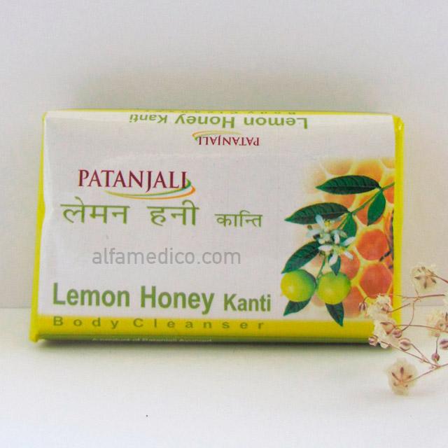 Мыло Patanjali Lemon Honey (Лимон и Мед), 75 г
