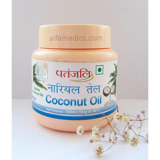 Кокосовое масло Патанджали (Patanjali Coconut Oil) 200 мл