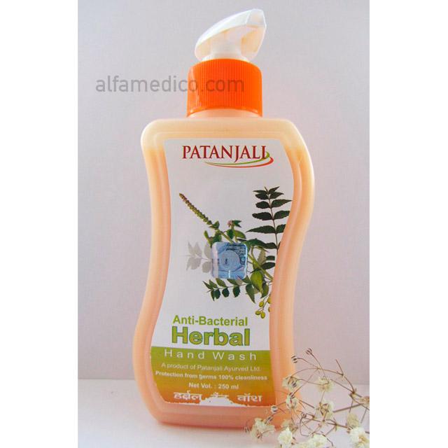Жидкое антибактериальное мыло Патанджали (Patanjali Anti-Bacterial Herbal Hand Wash) 250 гр