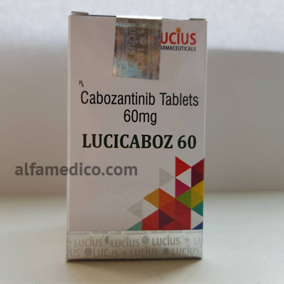 LuciCaboz (кабозантиниб) 60мг - дженерик Кометрик - Cabozantinib