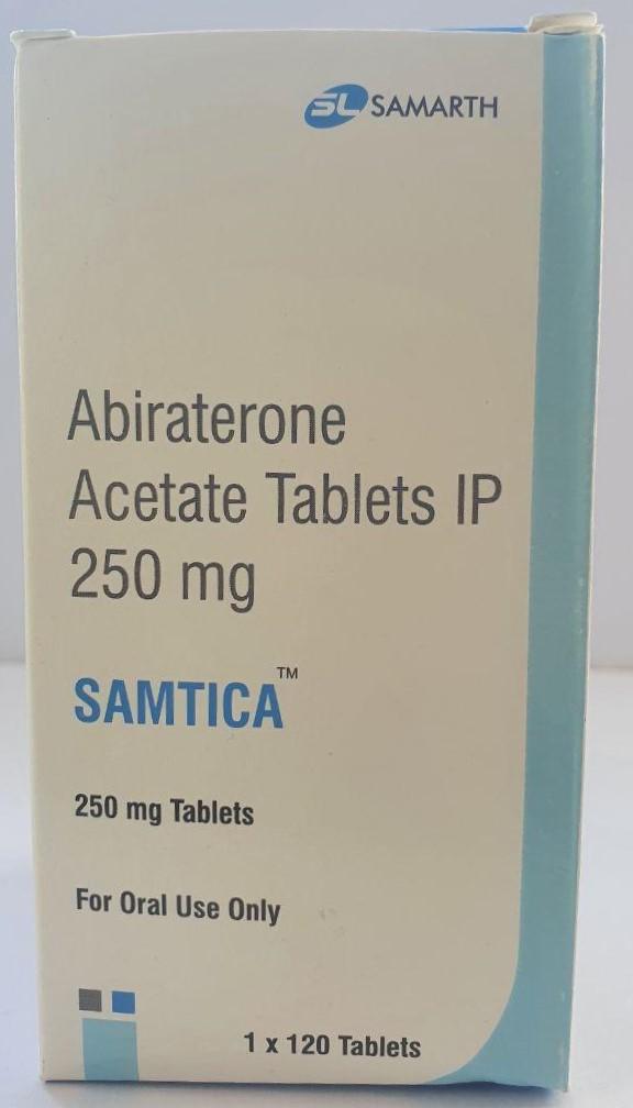 Abiraterone Acetate Samtica 250 мг