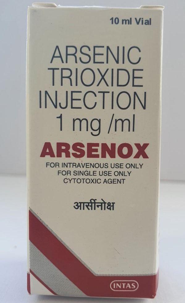 Триоксид мышьяка Arsenox Injection 1 мг