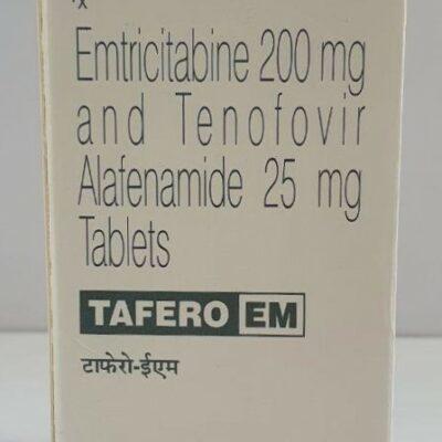 Emtricitabine 200 mg and Tenofofir Alafenamide 25 mg Tablets
