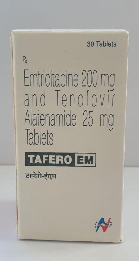 HETERO Tafero(Emtricitabine 200mg And Tenofovir Alafenmidw 25mg)