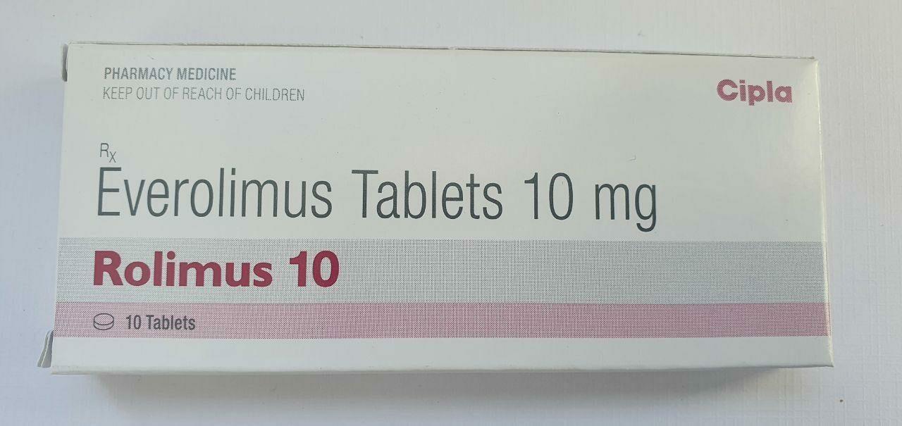 Эверолимус Ролимус, таблетки 10 мг