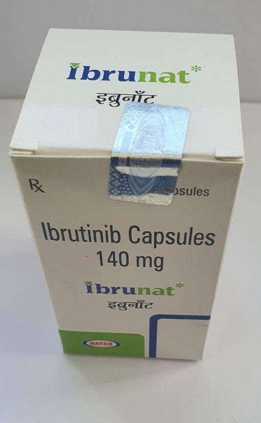 Ibrunat 140mg Capsules, Ibrutinib