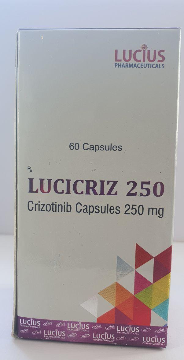 Кризотиниб (Crizotinib) 250 mg Lucicriz Capsules