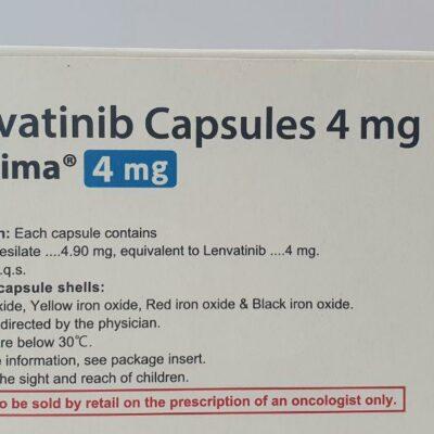 Lenvatinib Capsules 4 mg Lenvima