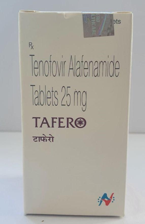 Tenofovir (Тенофовир) Alafenamide Tafer 25 Mg Tablets