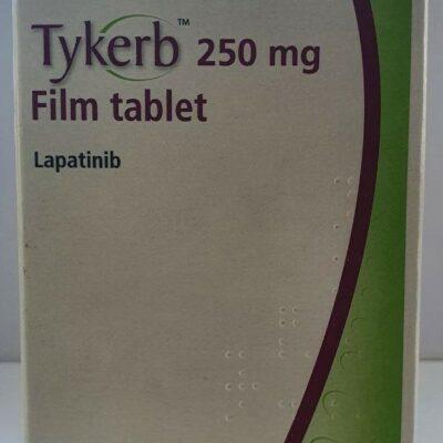 Tykerb 250 mg Film tablet Lapatinib