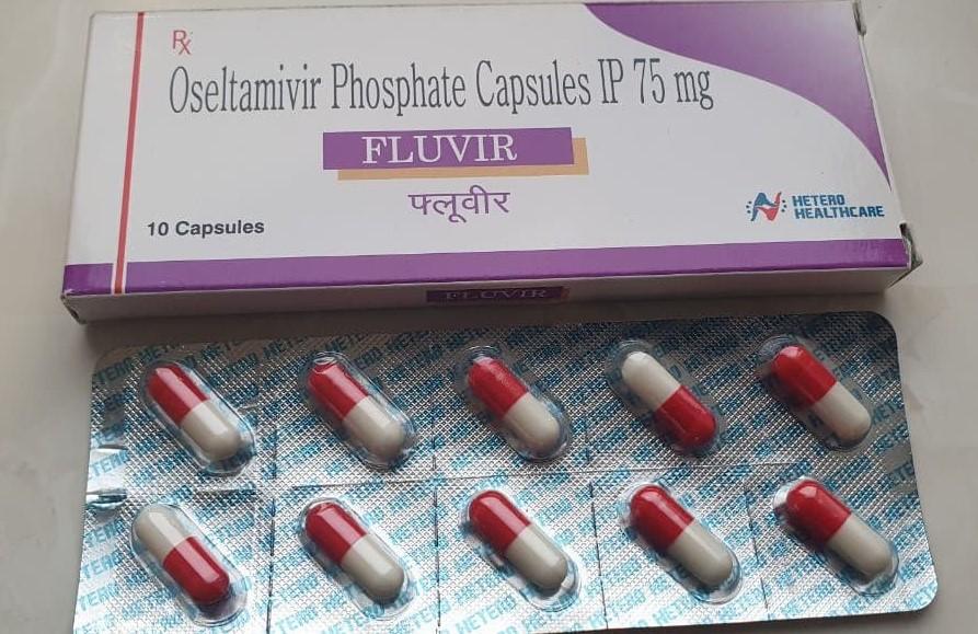 Oseltamivir Phosphate 75mg (ФЛУВИР 75 МГ КАПСУЛЫ)