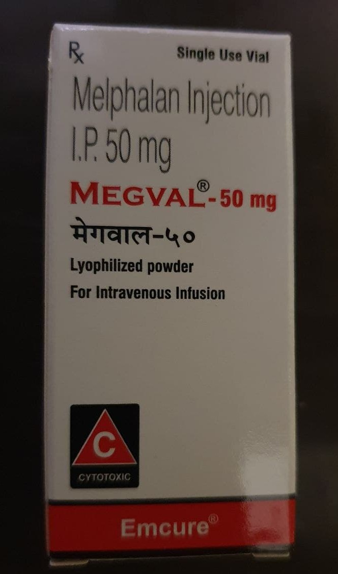 Melphalan Injections (Megval 50mg)